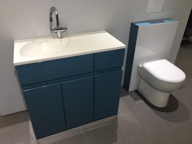 Beau Aqua Cabinets